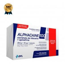 Anestésia local inyectable Alphacaina al 2% - Clorhidrato de lidocaína con epinefrina