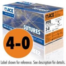 PTFE Reverse cut Suture 4-0   19mm  3/8